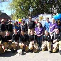 Charity Takes Pole Position in Firefighters' Team Challenge