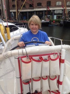 Truddi Bubb is supporting GLCT by crewing in the Clipper Round the World race.