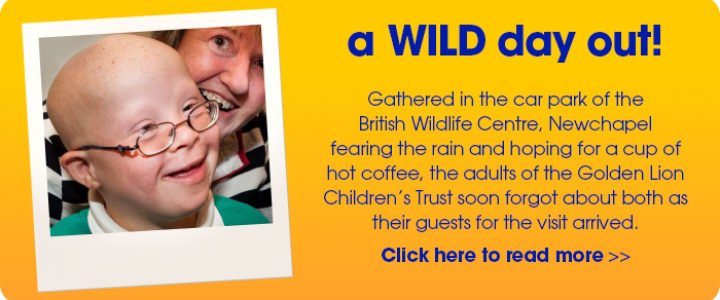 Donate to the Golden Lion Children's Trust
