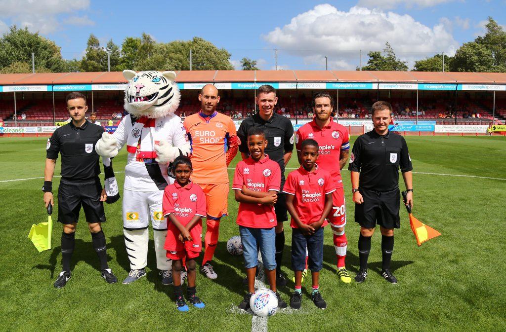 Crawley Town FC Family Fun Day   Golden Lion Children's Trust