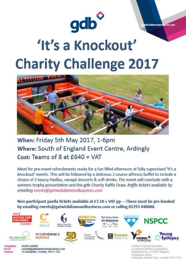 Charity Challenge Poster