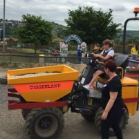 Visit to Diggerland, Rochester